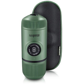 Wacaco Nanopresso Portable Espresso Machine with Protective Case, olive green